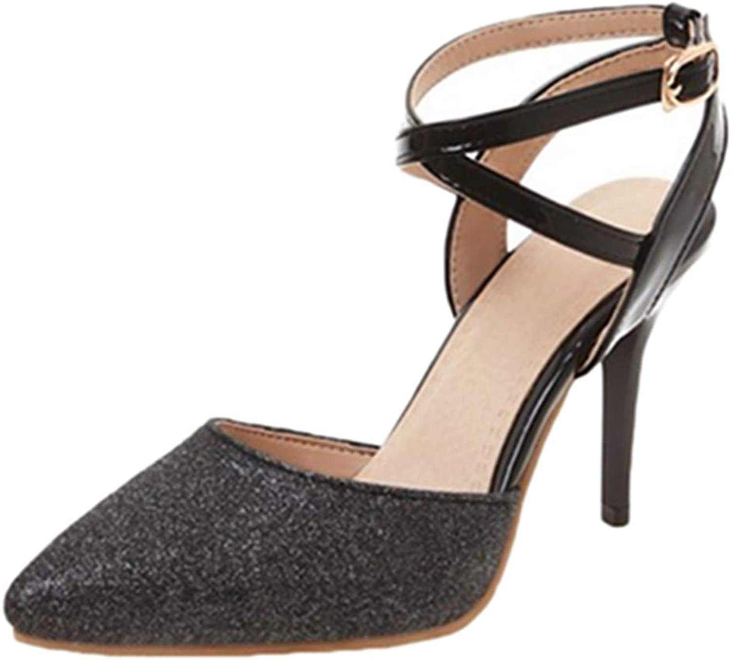 CUTEHEELS Women Dressy Heels with Stiletto and Pointed Toe