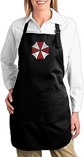 エコ BIOHAZARD 環境 保護 キャンバスエプロン 大きい サイズ シンプル ポケット付き H型 男女兼用 キレイなシルエット 飲食 作業 カフェ