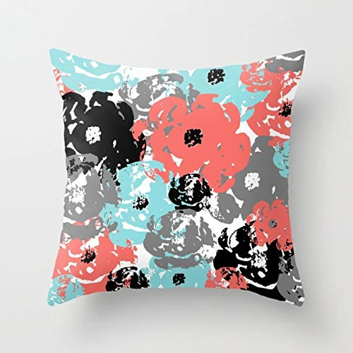 Throw PILLOWS Coral Throw Pillow Covers