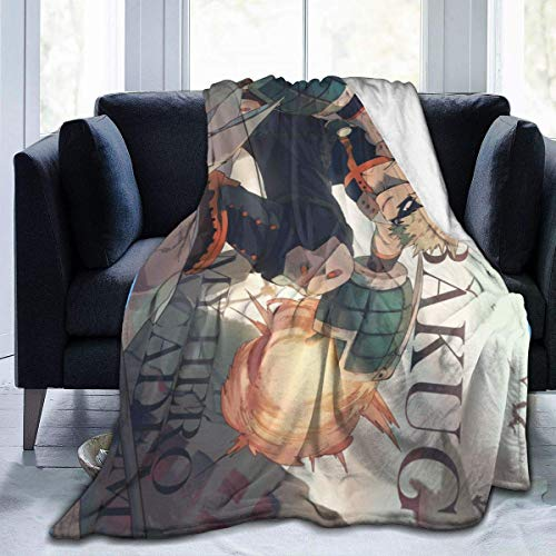 kangconnie03 My Hero MHA Academia Kachann Bakugou - Manta para sofá o sofá (Franela, 60 x 50 cm)