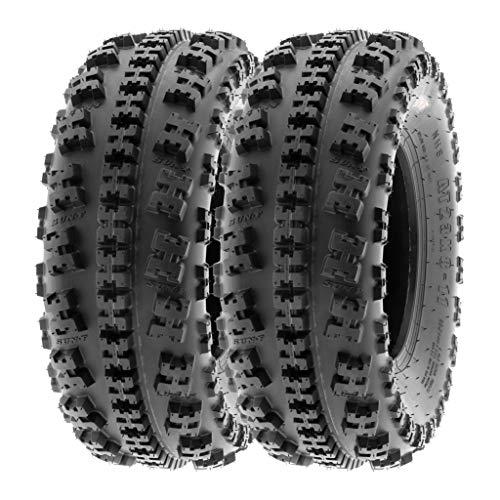 SunF 23x8-11 23x8x11 ATV UTV Tires 6 PR Tubeless A027 [Set of 2]