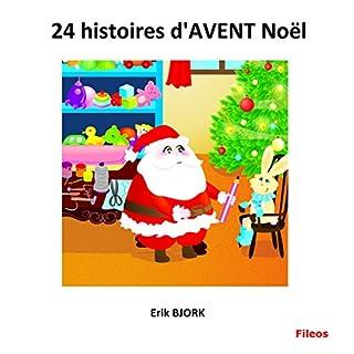Couverture de 24 histoires d'AVENT Noël