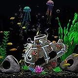 JYKFJ Decoración submarina para acuarios, decoración submarina de múltiples Orificios para peceras, decoración de acuarios para Acuario, Paisaje, pecera, Paisaje, pecera, decoración