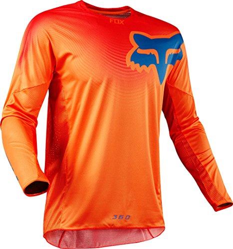 Fox Jersey 360 Viza, Orange, Größe L