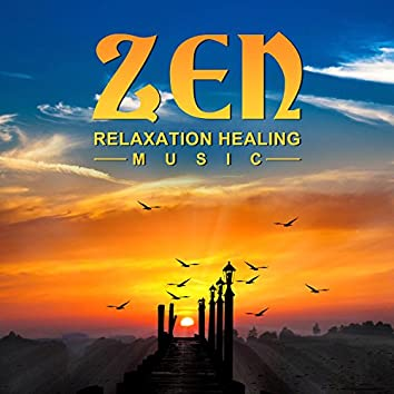 Zen Relaxation Healing Music: Instrumental New Age with Ocean Waves for Quiet Moments, Stress Management, Positive Energy