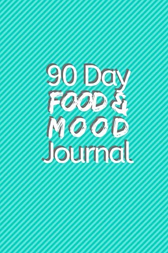 90 Day Food and Mood Journal: Monitor the Foods That Affect Your Mood Negatively