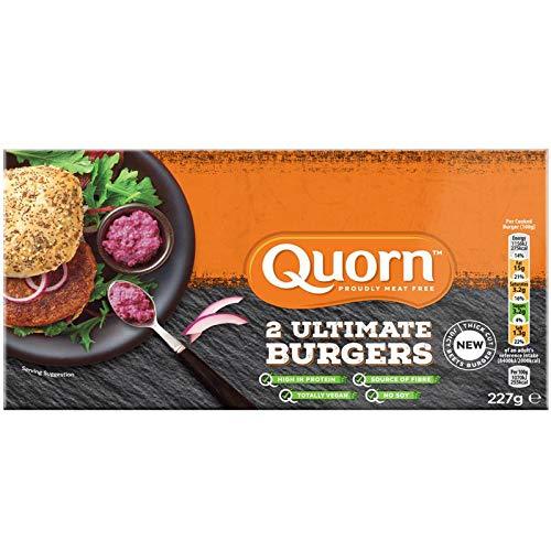 Quorn Hamburguesas Ultimate 227g | Vegana