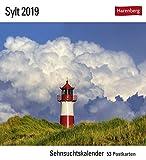 Sehnsuchtskalender Sylt - Kalender 2019 - Harenberg-Verlag - Postkartenkalender mit 53 heraustrennbaren Postkarten - 16 cm x 17,5 cm
