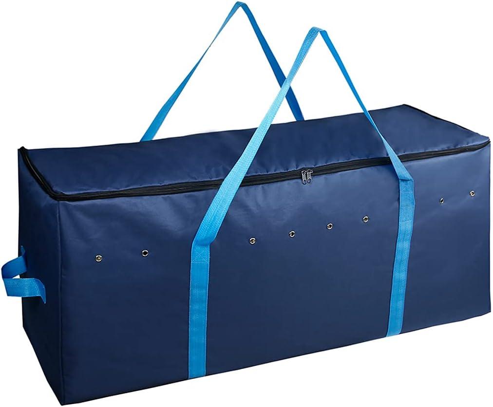 Grbewbonx Bolsa de almacenamiento de heno Bale 600D Oxford tela grande bolsa de transporte de pacas de heno con correas plegables para caballos y ganado bolsas de heno