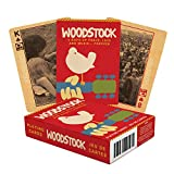 AQUARIUS Woodstock Playing Cards - Woodstock Themed Deck of Cards for Your Favorite Card Games -...