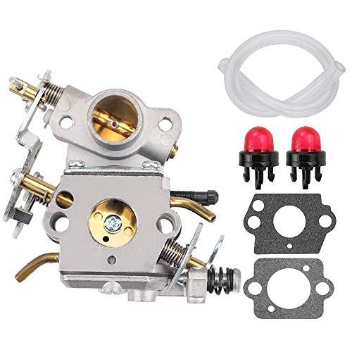 FQFP C1M-W26C Carburetor Fit for Poulan Hus P3314 P3416 PPB3416 PP3416 PP3516 P3816 P4018 PP4018 PP4218 PPB4218 PPB4018 S1970 Chainsaw Replaces Zama W-26 545070601 530035589