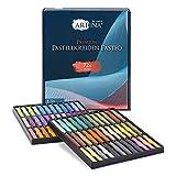Artina Pasteo Master Series Soft Pastel - Tiza pastel - Calidad de estudio - Set de 72 colores con caja