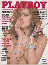 Sharon Stone Autographed Signed 1990 Playboy Magazine PSA/DNA 6A64944 32232