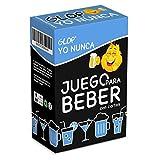 Glop Yo Nunca - Juegos para Beber - Juegos de Mesa Adulto - Juegos de Cartas para Fiestas - Regalos Originales para Hombres y Mujeres - 100 Cartas