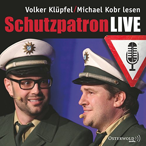 Schutzpatron LIVE     Kommissar Kluftinger 6              By:                                                                                                                                 Michael Kobr,                                                                                        Volker Klüpfel                               Narrated by:                                                                                                                                 Michael Kobr,                                                                                        Volker Klüpfel                      Length: 1 hr and 18 mins     Not rated yet     Overall 0.0