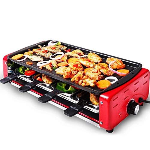 ZFLL inklapbare barbecue, infrarood-gasbrander, milieuvriendelijk, huishoudelijke rook, elektrische barbecue, kebab-machine kookplaat
