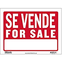 "BAZIC 9 "" x 12 "" Se Vende Sign , Case Pack of 480"