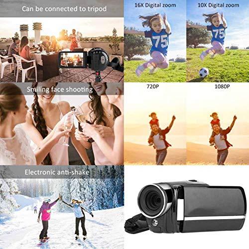 FOLOSAFENAR Cámara 22MP 16X Zoom con Efectos Especiales fotográficos