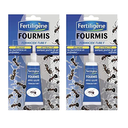 Anti Fourmis , Lot de 2 Tubes Gel 30 grammes fertiligène