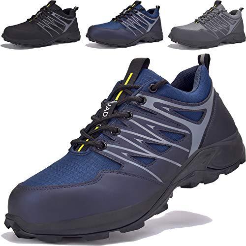Scarpe da Trekking Uomo Antiscivolo Antiscivolo Scarpe da Escursionismo Scarponi da Montagna Traspiranti Passeggiate Stivali per Esterni Arrampicata Sportive All'aperto Sneakers