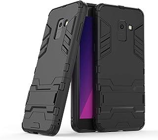 Telefon Tillbaka Väska PC & TPU skyddande fodral med stativ, Drop Proof Skyddsfodral, täcker flår Tillbaka Case Cover (Siz...