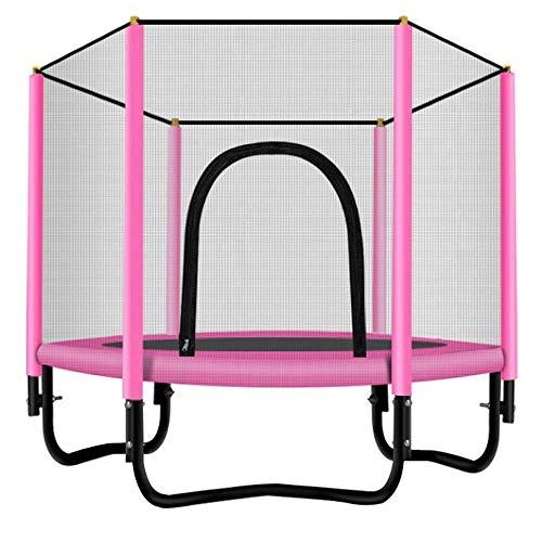 Trampoline Binnen/Buiten Trampoline | Kinderen Best Birthday Gifts goede oefening Gereedschap Trampolin trampoline en overdekking,dljyy