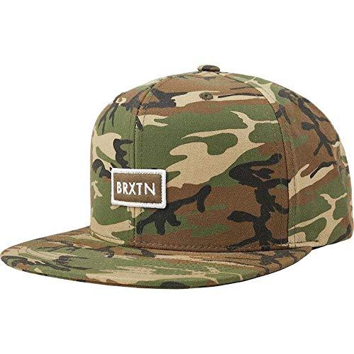 Brixton Rift II Mp Snapback Hat Cap Camo キャップ 並行輸入品