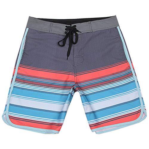 YHXY Summer Mens Fancy Shorts Lässige Kurze Hosen Badehose Outfits Urlaub Abnutzung Hawaii Clother