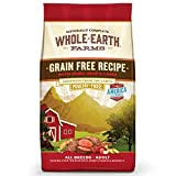 Whole Earth Farms Grain Free Recipe Dry Dog Food, Pork, Beef & Lamb,...
