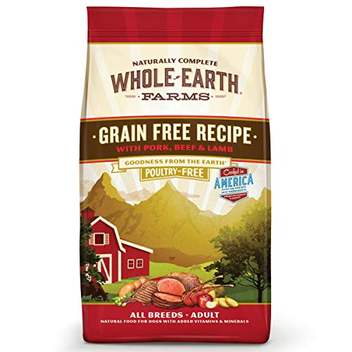Whole Earth Farms Natural Grain-Free Dry Dog Food