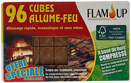 Flam'up SE0700-0700 in legno naturale cubetti di...