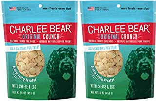 Best charlee bear dog treats with cheese & egg Reviews