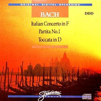 Italian Concerto In F, Partita No 1, Toccata In D