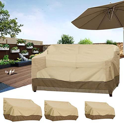 SueSupply Sofabezug, UV-beständig, staubdicht, Balkon, Gartenmöbel, A, S