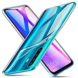 ivencase Cover Huawei P30 PRO Silicone, Huawei P30 PRO Cover Trasparente [Shock-Absorption]...