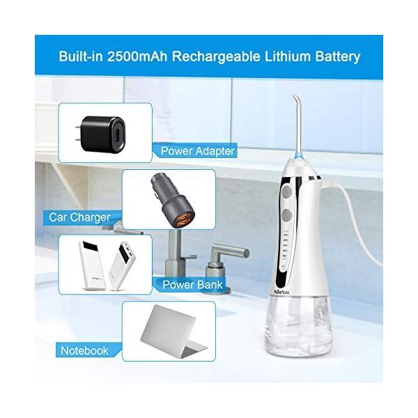 H2ofloss Cordless Water Flosser Oral Irrigator