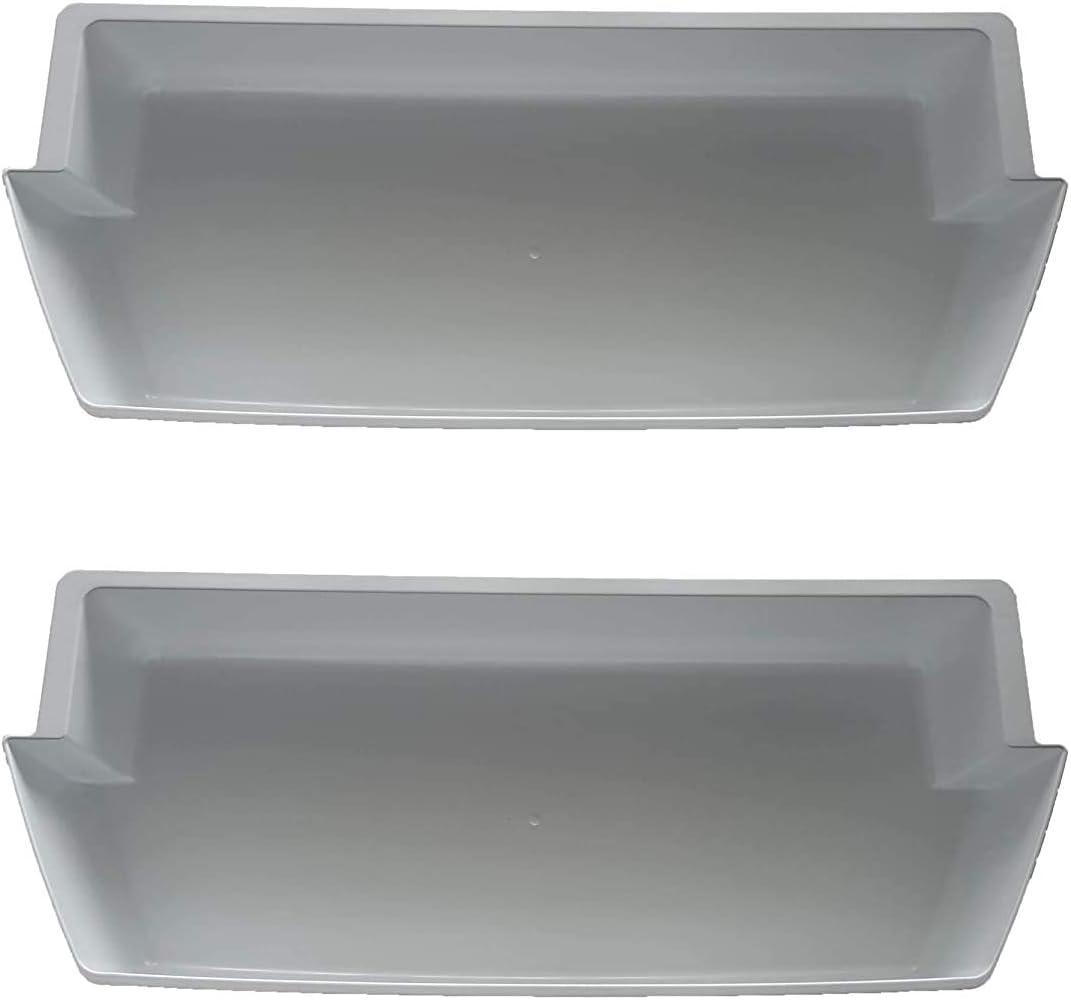 2 PCS Refrigerator Door Shelf Replacement New item Whirlpool Mail order Bins WRS For