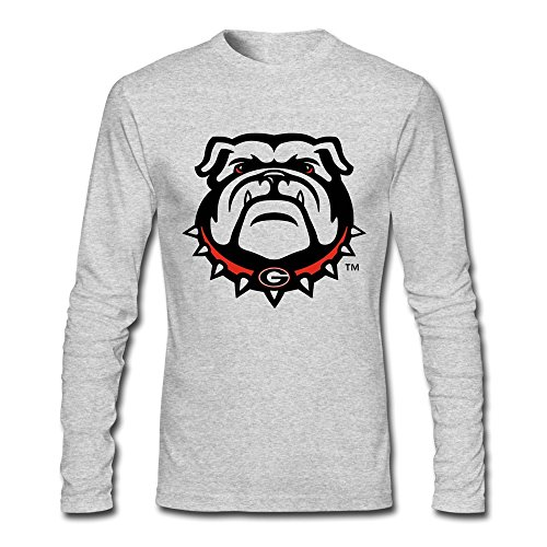 HEJX Men Georgia Bulldogs Custom Lo…