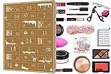 WYNIE Calendario de Adviento de Maquillaje 2020 con 24 casillas con Accesorios de Belleza y Cosmética