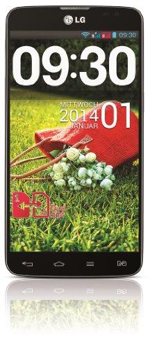 LG G Pro Lite Smartphone (14 cm (5,5 Zoll) IPS-Touchscreen, 1 GHz Dual-Core Prozessor, Dual-Sim, 8 Megapixel-Kamera, Android 4.1.2) schwarz