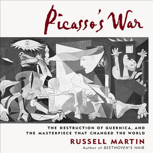 Picasso's War audiobook cover art