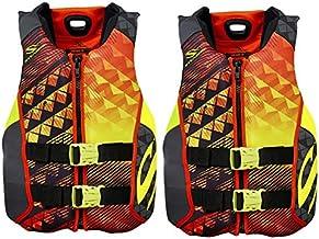Stearns Hydroprene Life Vest 2 Pack Orange
