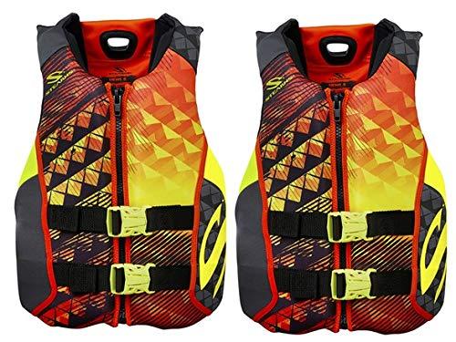 Stearns Hydroprene Life Vest 2 Pack, 2 orange, XL