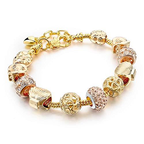 Armband sieraden Nieuwe Merk Armbanden Sieraden Gouden Ketting Armbanden En Armbanden Armband Gouden Kralen Verstelbare Sieraden Cadeau