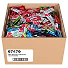 Airheads Candy Mini Bars, Halloween Assorted Flavors, Individually Wrapped Bulk Box, Non Melting, Party, 25 Pounds