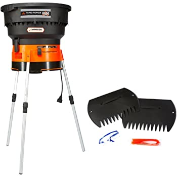 YARD FORCE YF8000 YardForce Electric Leaf Mulcher/Shredder with Bonus Accessory Kit, One Size, Black/Orange