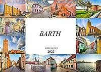 Barth Impressionen (Wandkalender 2022 DIN A4 quer): Zwoelf wundervolle Bilder der Kleinstadt Barth (Monatskalender, 14 Seiten )