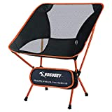 EDEUOEY Ultralight Backpack Camping Chair: Travel Hiking Heavy Duty 230lb Foldable Compact Portable Lighter Packable Capacity Outdoor Beach Collapsible Backpacker