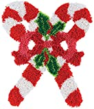 Latch Hook Kits Rug, Latch Hook Christmas Candy, Pattern Printed Canvas for Kids/Adults Christmas Decorations 20.4' X 15' (52X38cm)