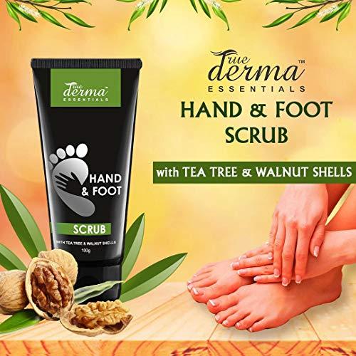 True Derma Essentials Hand & Foot Scrub (Unisex)-100ml